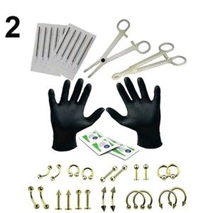 Other - 38 piece piercing set for beginners new in package